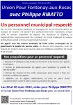 fontenay-aux-roses,philippe ribatto,personnel municipal,agents municipaux,projet,élection municipale 2014