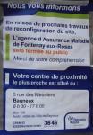 sécurité sociale,crèche Sainte-Barbe,travaux du marché,fontenay-aux-roses