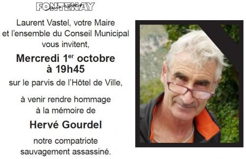 hervé gourdel,hommage,conseil municipal